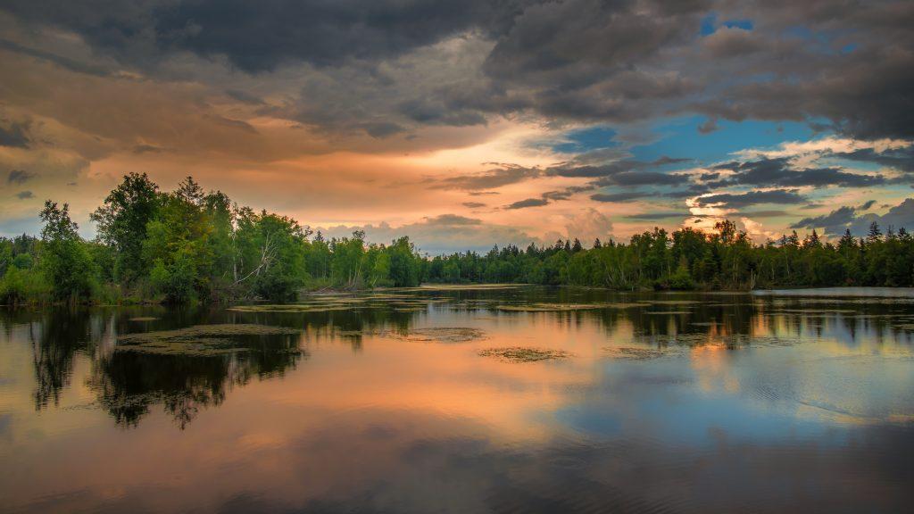 atmospsheric background